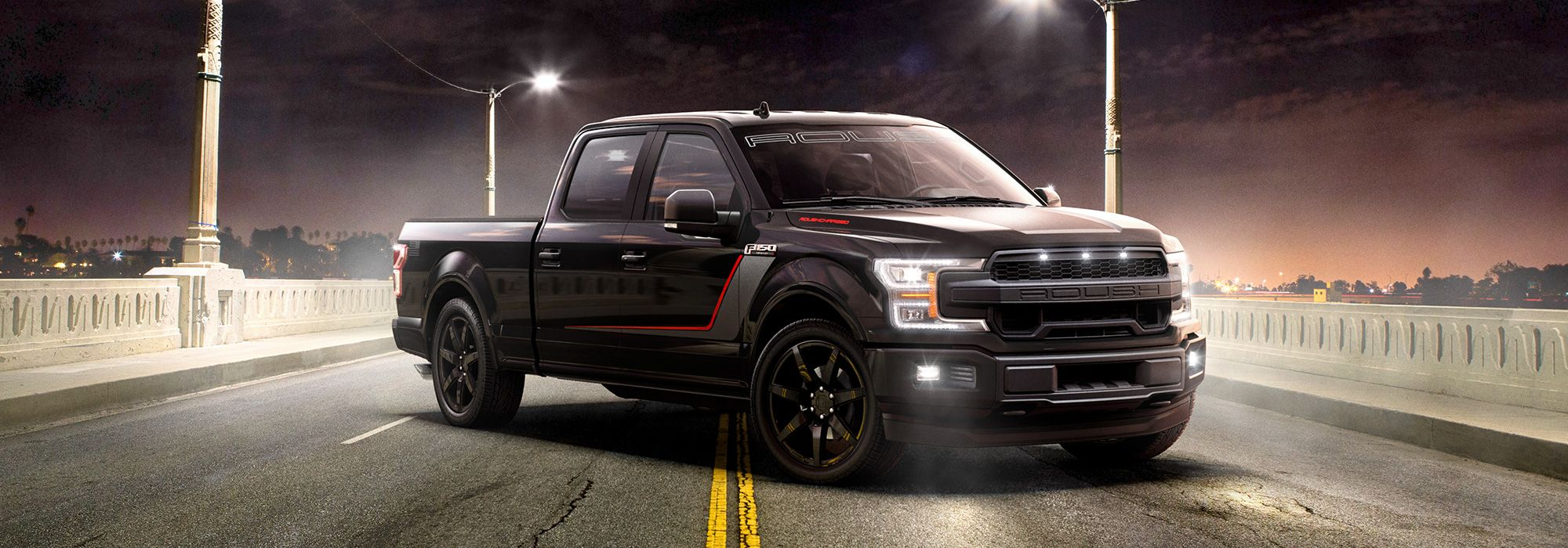 The 650-HP Roush Nitemare F-150 Can Hit 60 MPH In Under Four Seconds