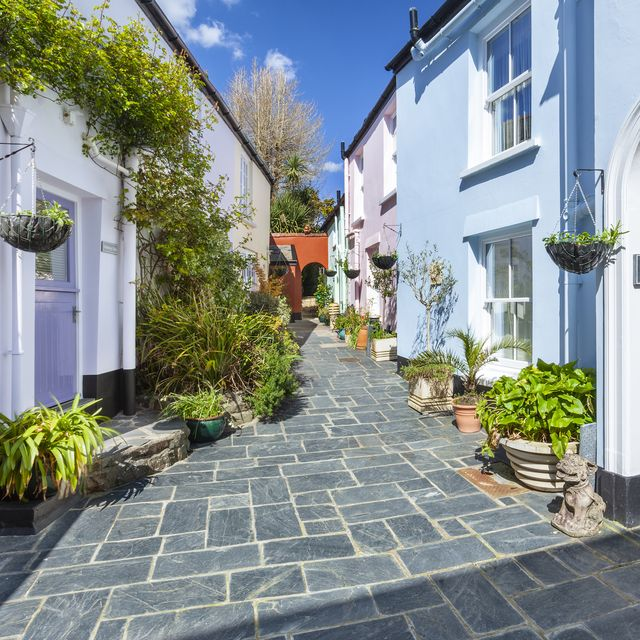 row of cottages for sale in devon