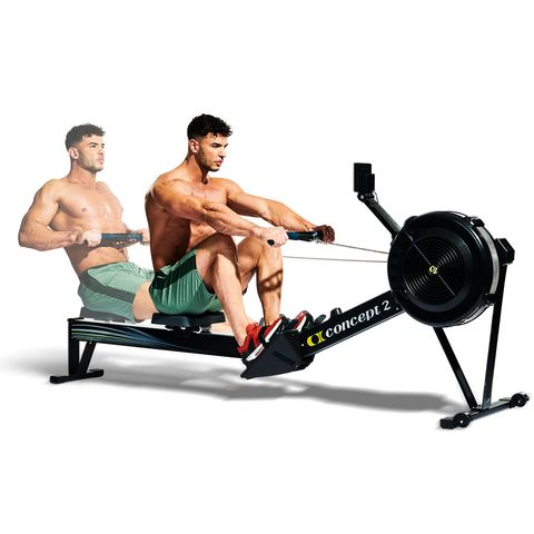 Exercise machine, Exercise equipment, Indoor rower, Sports equipment, Muscle, Bench, Fitness professional, Physical fitness, Abdomen, Free weight bar,
