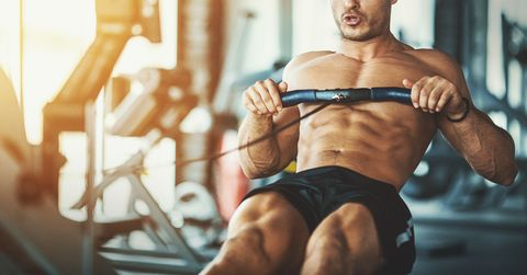ejercicio de remo