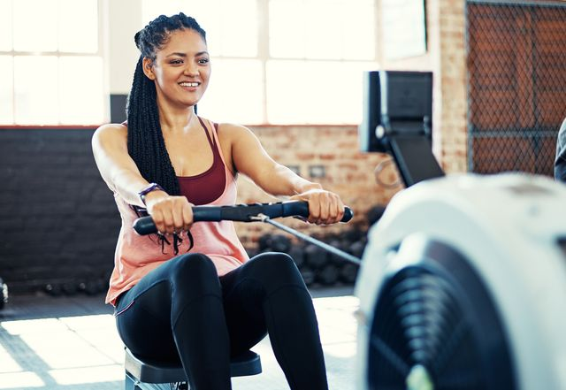 rowing towards a healthier and happier me