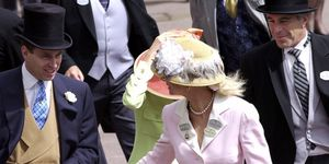 Prince Andrew And Jeffrey Epstein At Ascot
