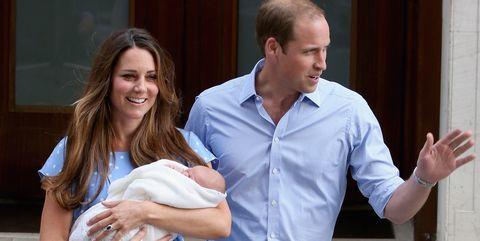 Women having fewer children - royal baby