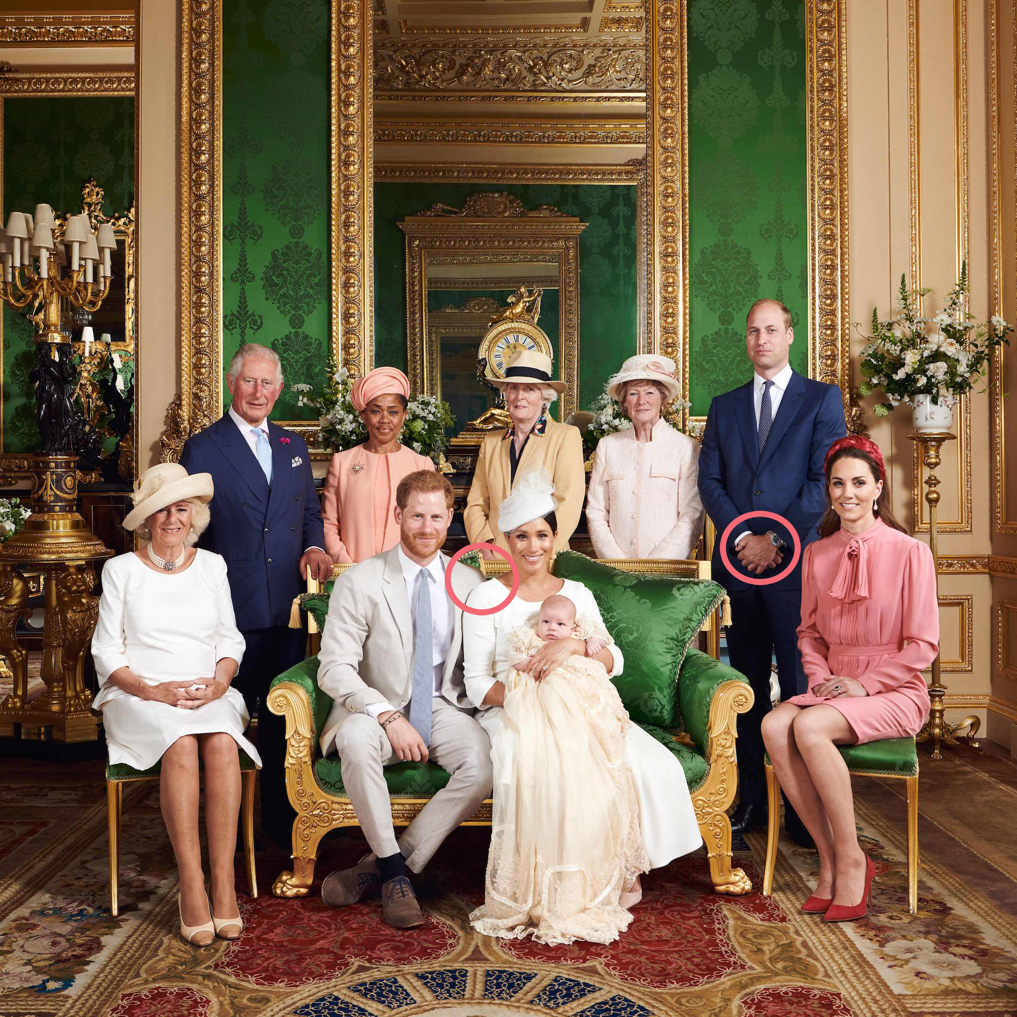 Body Language Experts Analyze Kate Middleton and Prince William at Archie's Christening