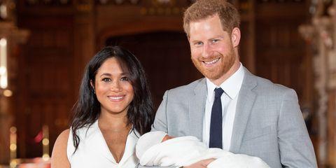 royal baby, eerste beelden, baby sussex