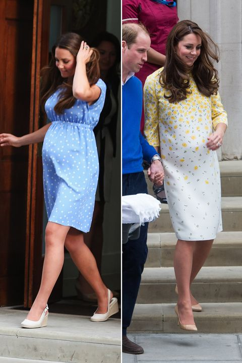 89dcc72468925 Getty Images. Duchess Kate went for neutral shoes once again with baby no. 3  ...