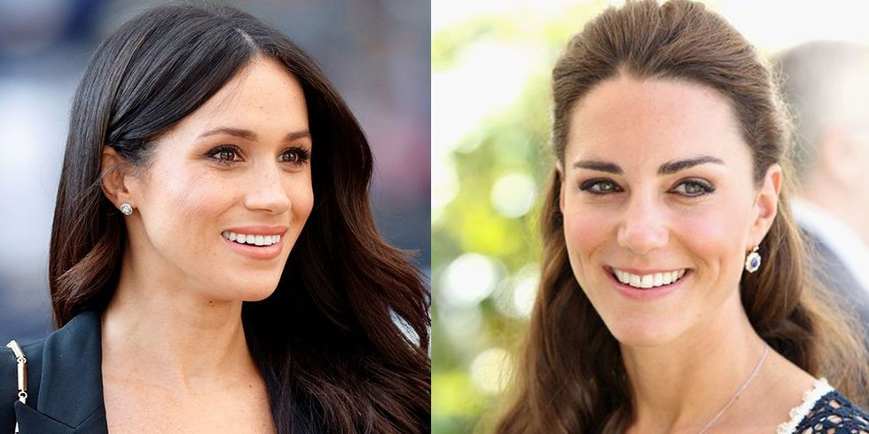 They're royal, but they're not superhuman. Meghan Markle, Kate Middleton, and other members of the British royal family have relied on their own beauty wits (and their makeup artists!) to look like total perfection every time they make an appearance.