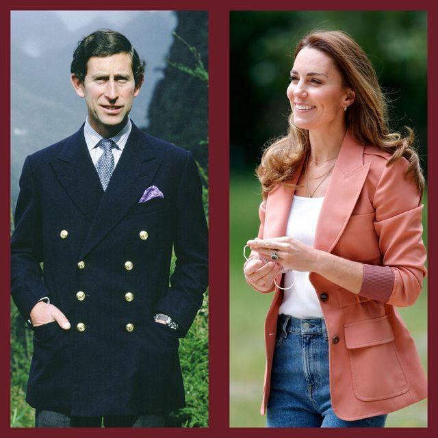 royals wearing blazers
