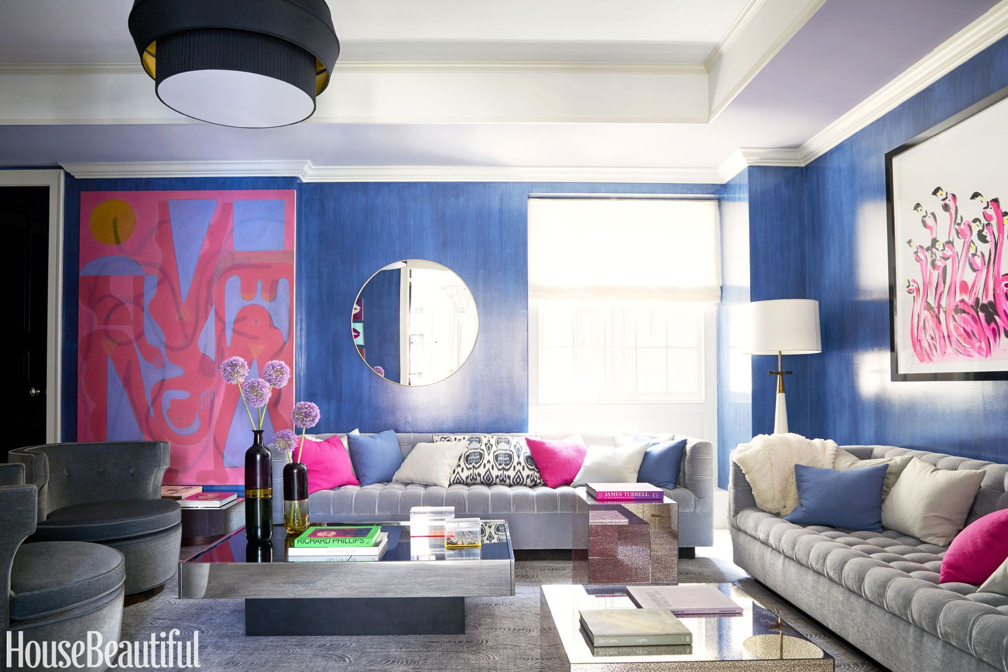 House Beautiful & 25 Best Living Room Color Ideas - Top Paint Colors for Living Rooms