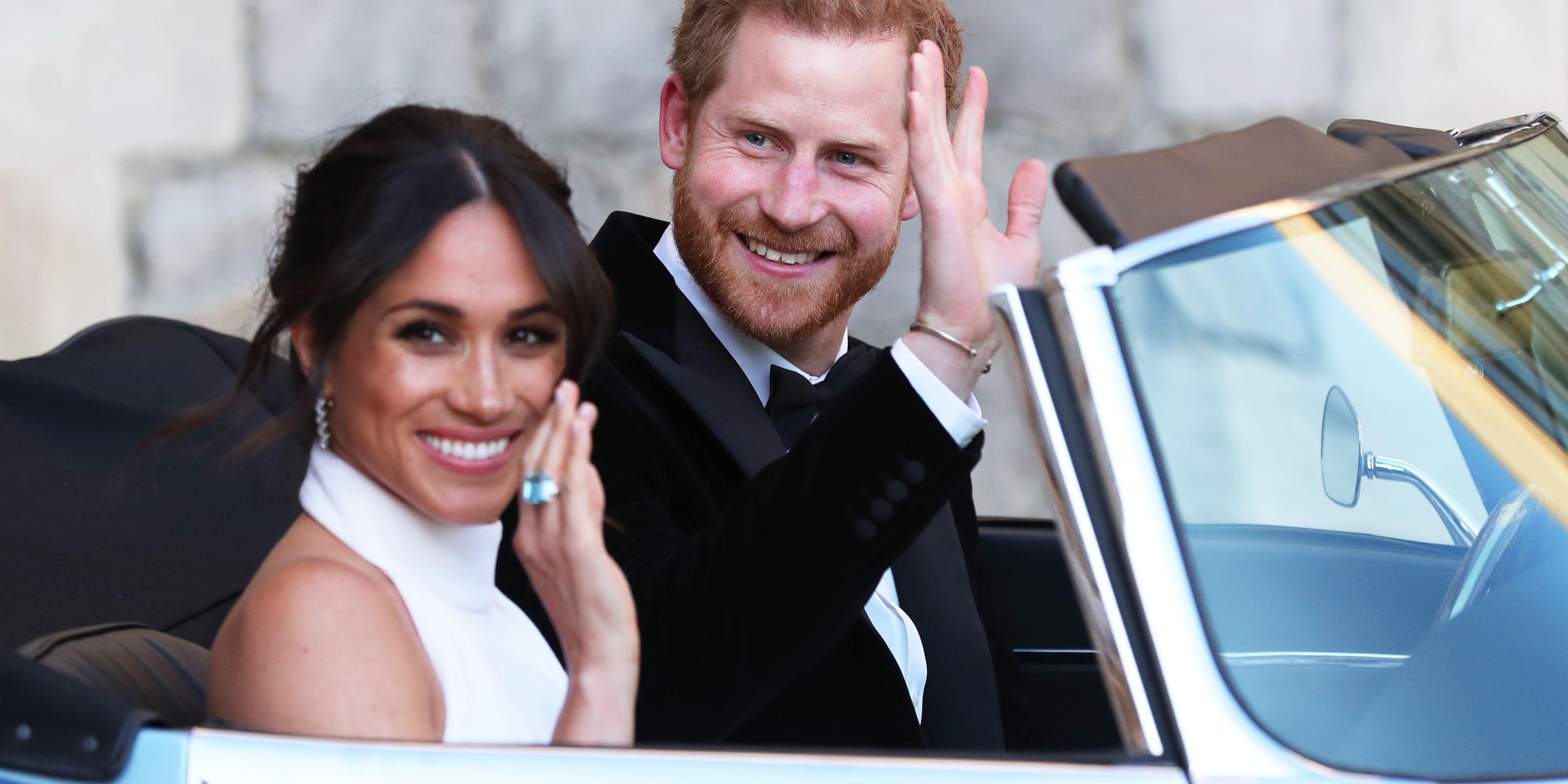 Royal Wedding prince harry meghan markle car