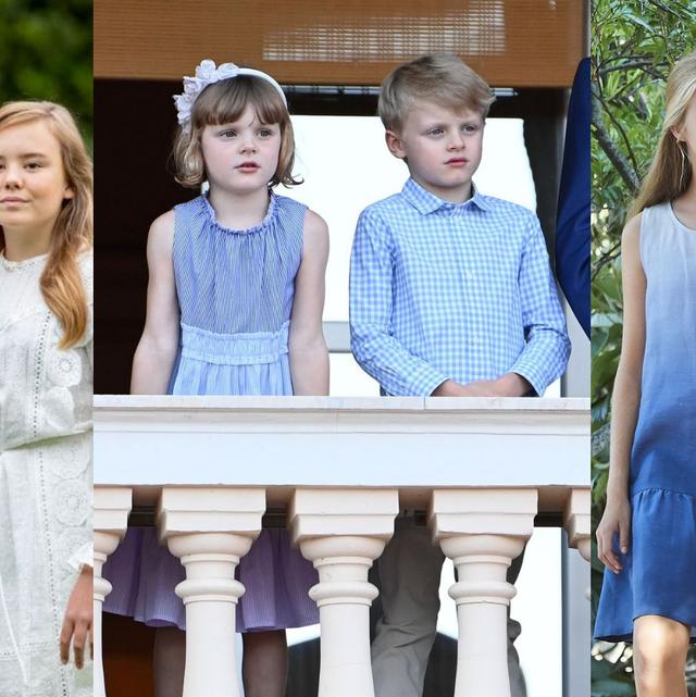 royal kids matching summer outfits