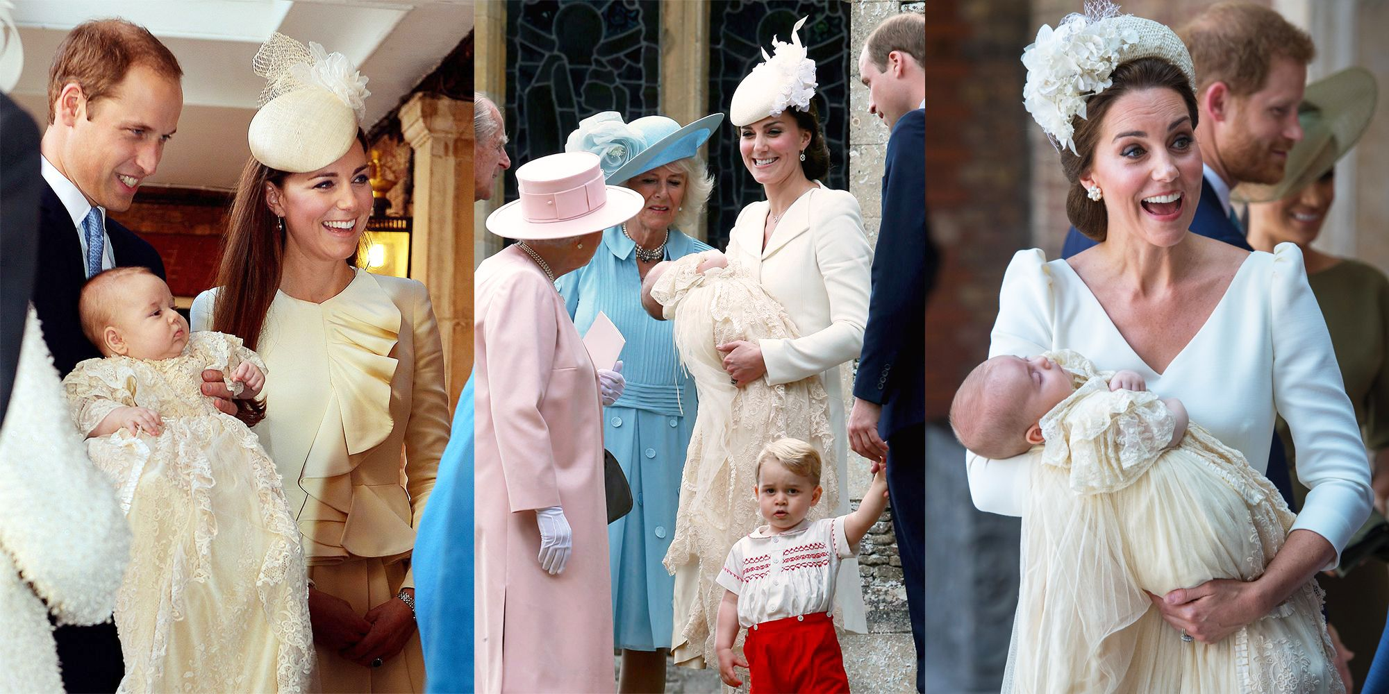 Prince Louis Christening Outfit Photos Prince Louis Wears