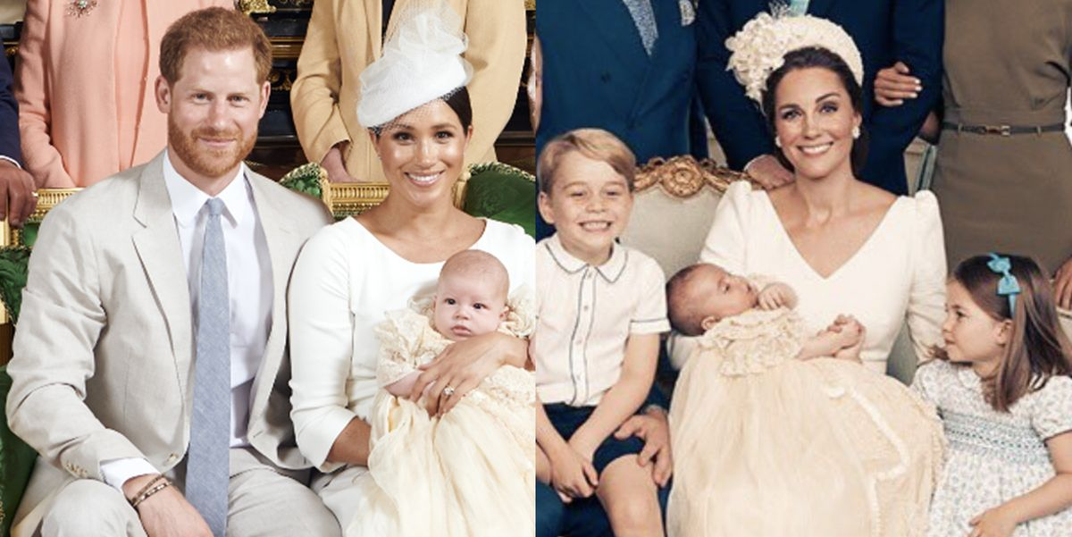 Archies Wedding Gifts: Archie's Christening Photos Compared To George, Charlotte