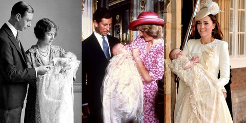 57f9410df Prince Louis's Christening Dress History - Traditions Behind Royal Baby Christening  Gowns