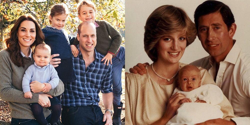 Royal Christmas.Royal Family Christmas Cards Through The Years British