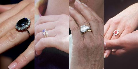Here S What The British Royal Engagement Rings Look Like