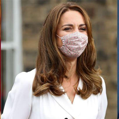 英国ロイヤルファミリーのマスクファッション