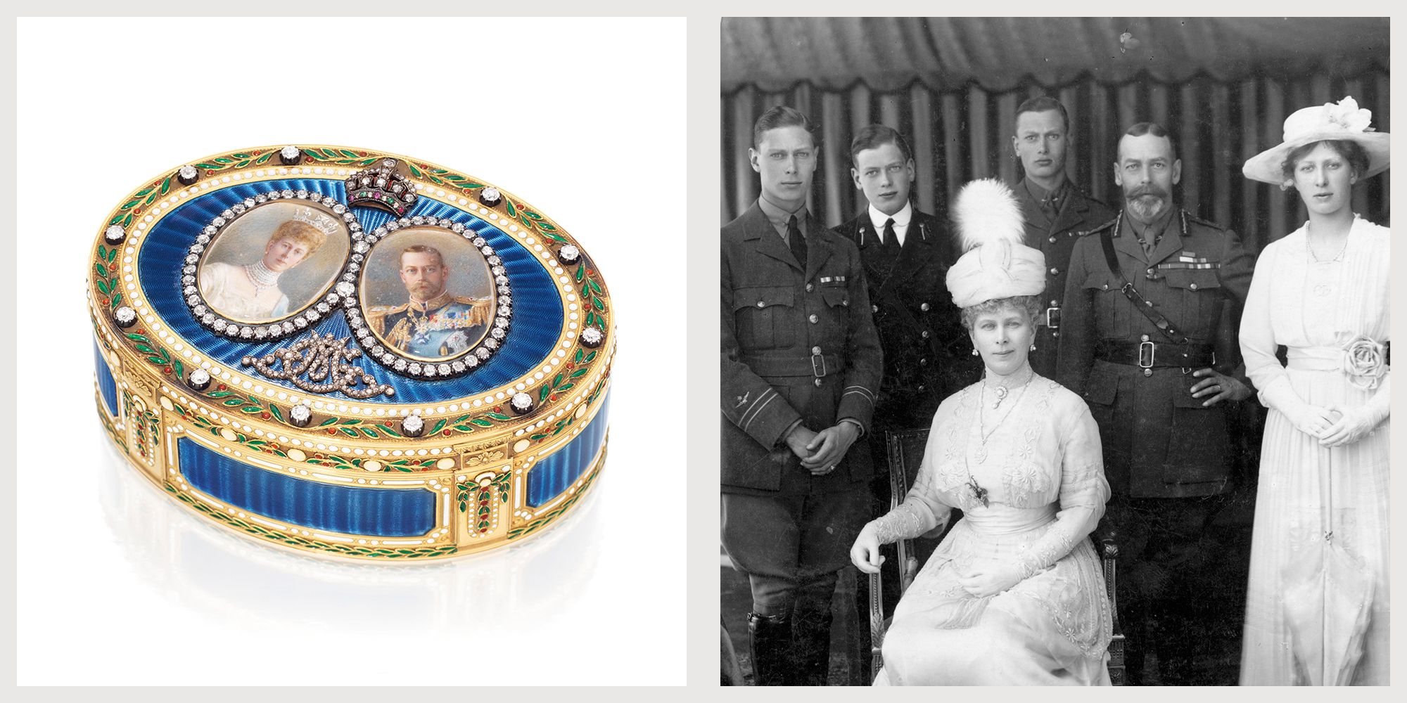 Royal Treasures from Queen Elizabeth's Aunt and Uncle Head to the Auction Block