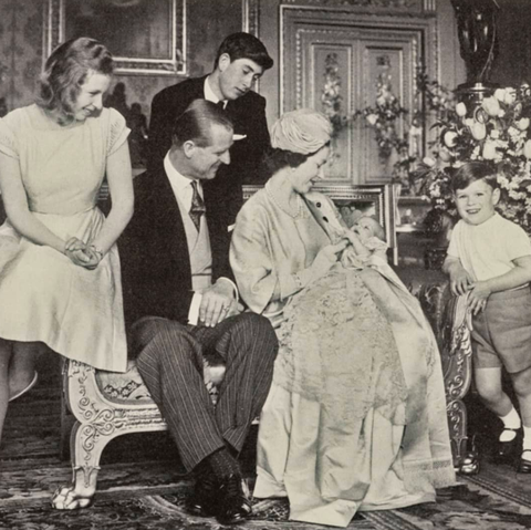 Take A Look At The Royal Family S 1964 Christmas Card