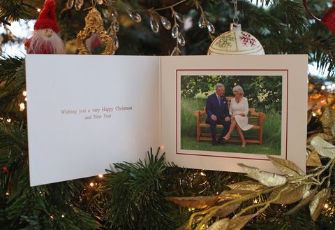 Royal family, christmas cards