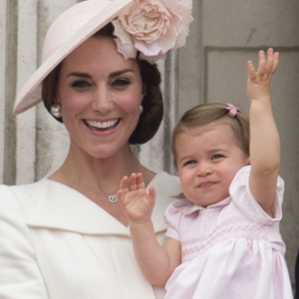 royal family trooping the colour first appearance