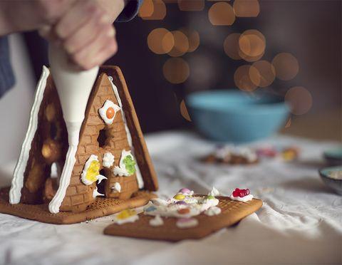 royal gingerbread house recipe