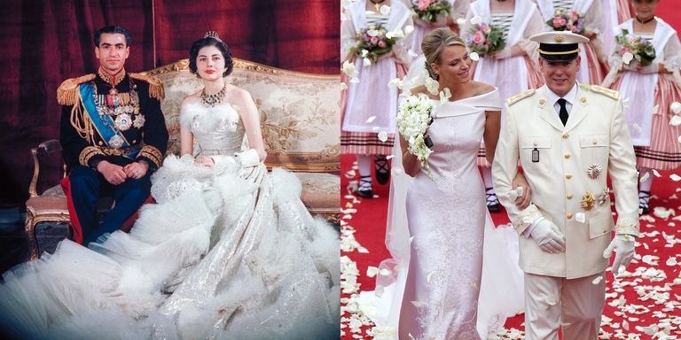 The best royal wedding dresses of the last 70 years for Elle king wedding dress designer