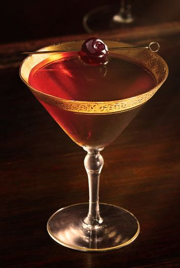 cognac manhattan