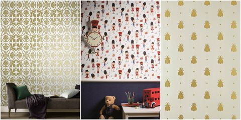 Best Regal Style Wallpapers For A Royal Themed Baby Nursery