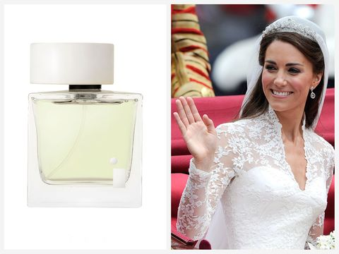 The Duchess of Cambridge wore Illuminum White Gardenia Petals perfume to marry Prince William in 2011.