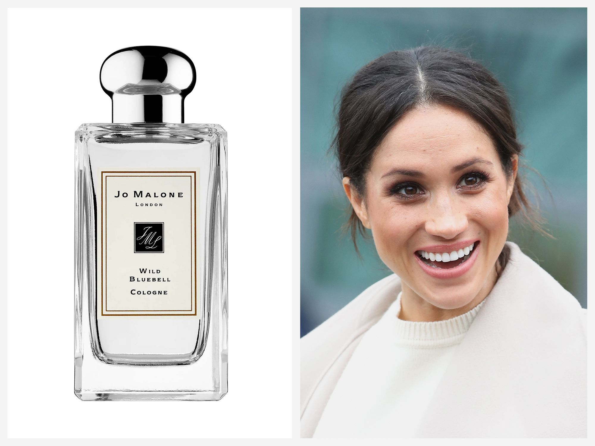 The Duchess of Cambridge has reportedly worn Jo Malone London Wild Bluebell on and off over the years.