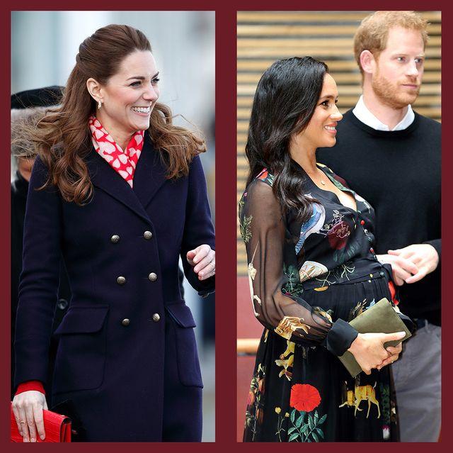 ロイヤルファミリー プリント ファッション ドレス ダイアナ妃 キャサリン妃 メーガン エリザベス女王