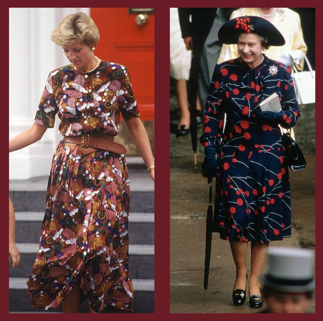 royals in prints