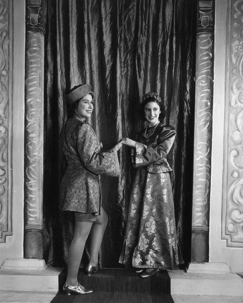 エリザベス女王 クリスマス マーガレット王女