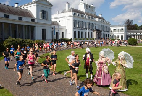 Royal Run hardlopers Paleis Soestdijk