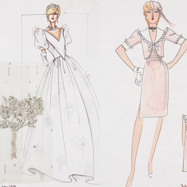 royal style in the making princess diana honeymoon outfit