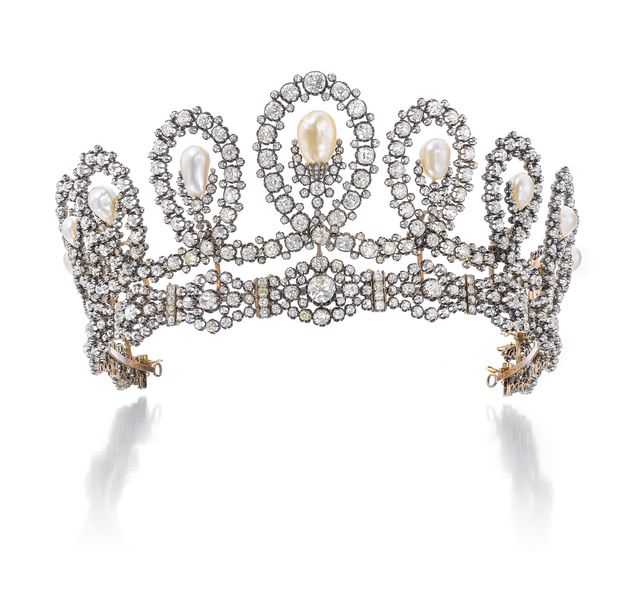 royal tiara to be auctioned at sotheby's