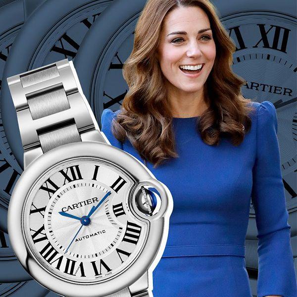 エリザベス女王、キャサリン妃と腕時計