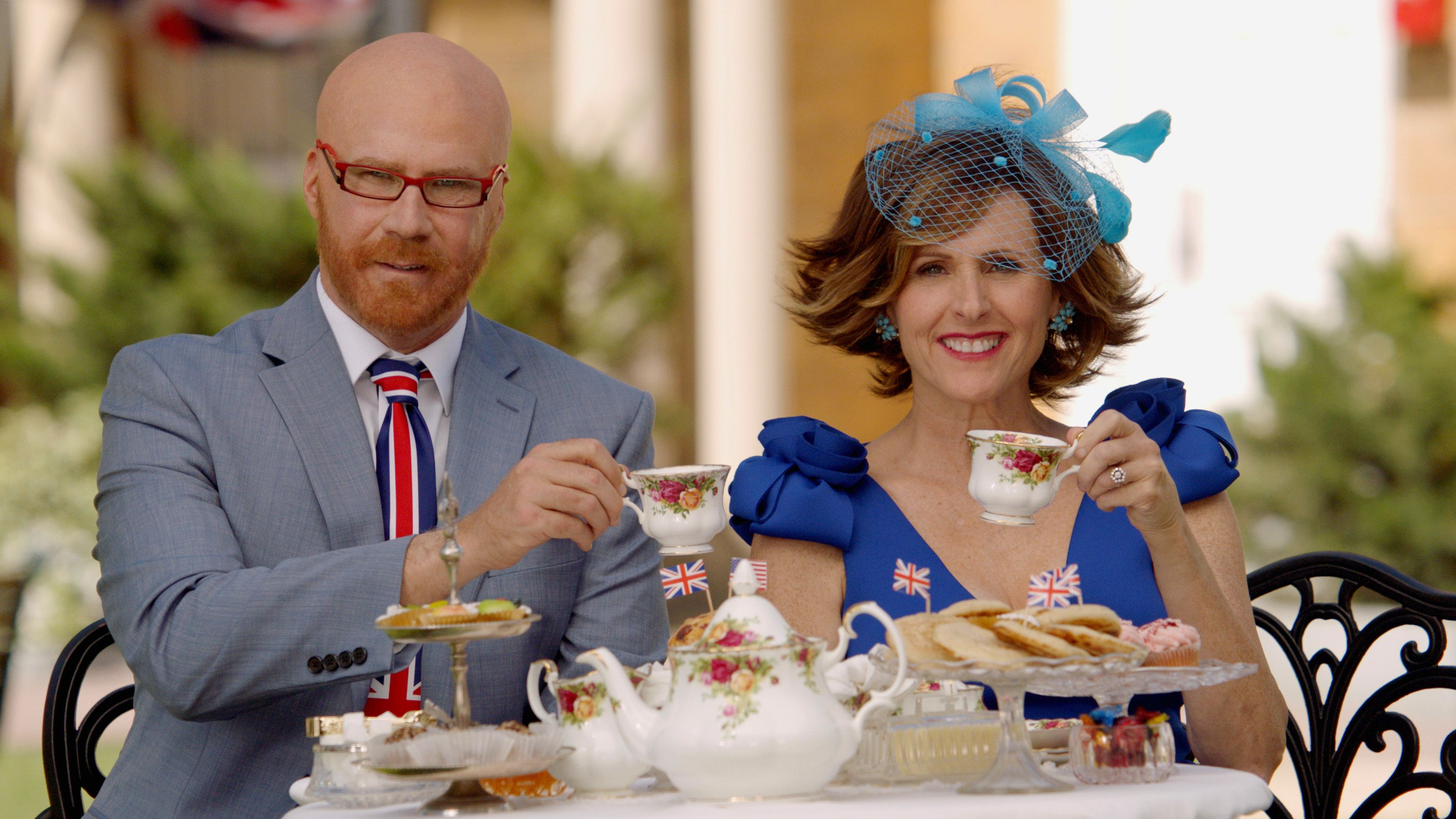 Will Ferrell And Molly Shannon Lost Their Sht When Meghan and Harry Kissed at the Royal Wedding