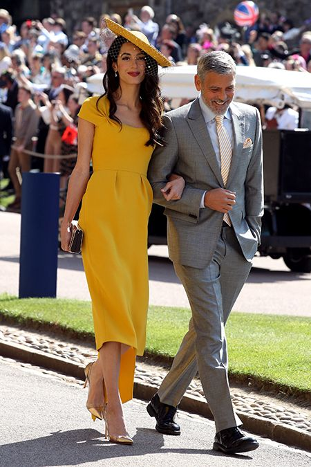 royal wedding 2018 Amal Clooney