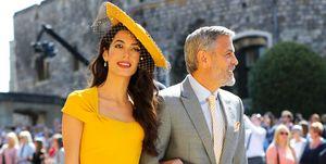Royal Wedding 2018Amal Clooney George Clooney