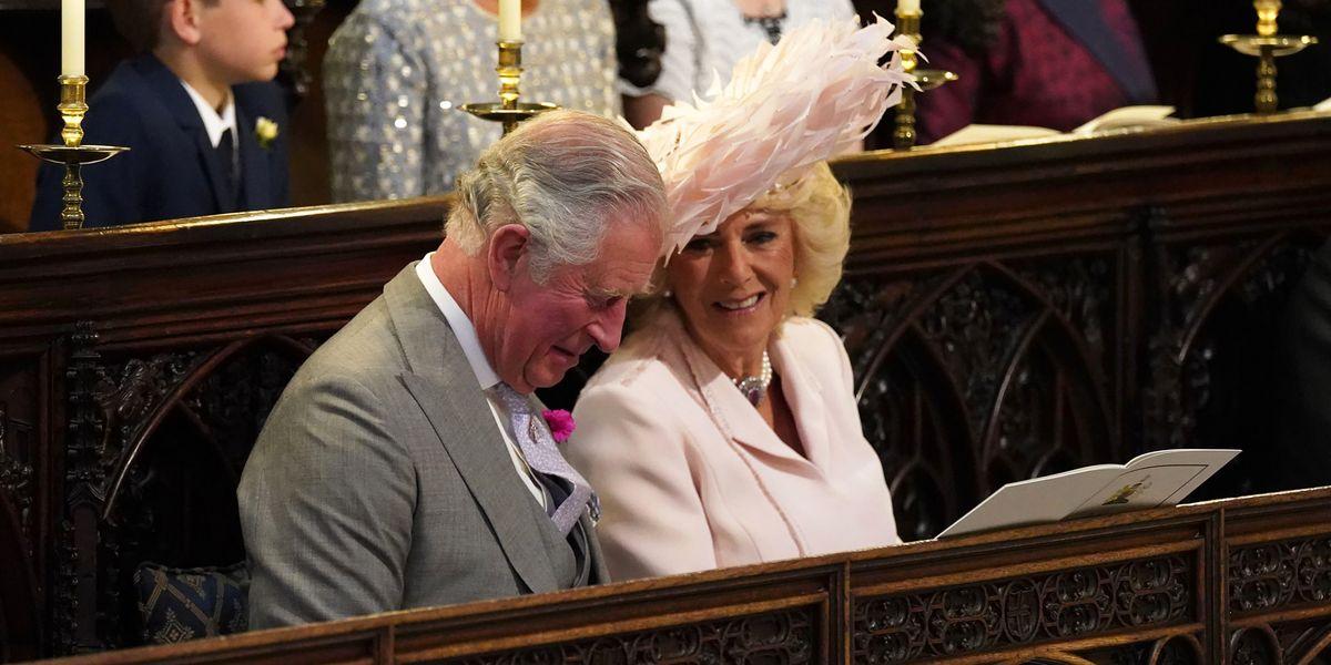 Camilla Parker Bowles Royal Wedding Outfit What Camilla