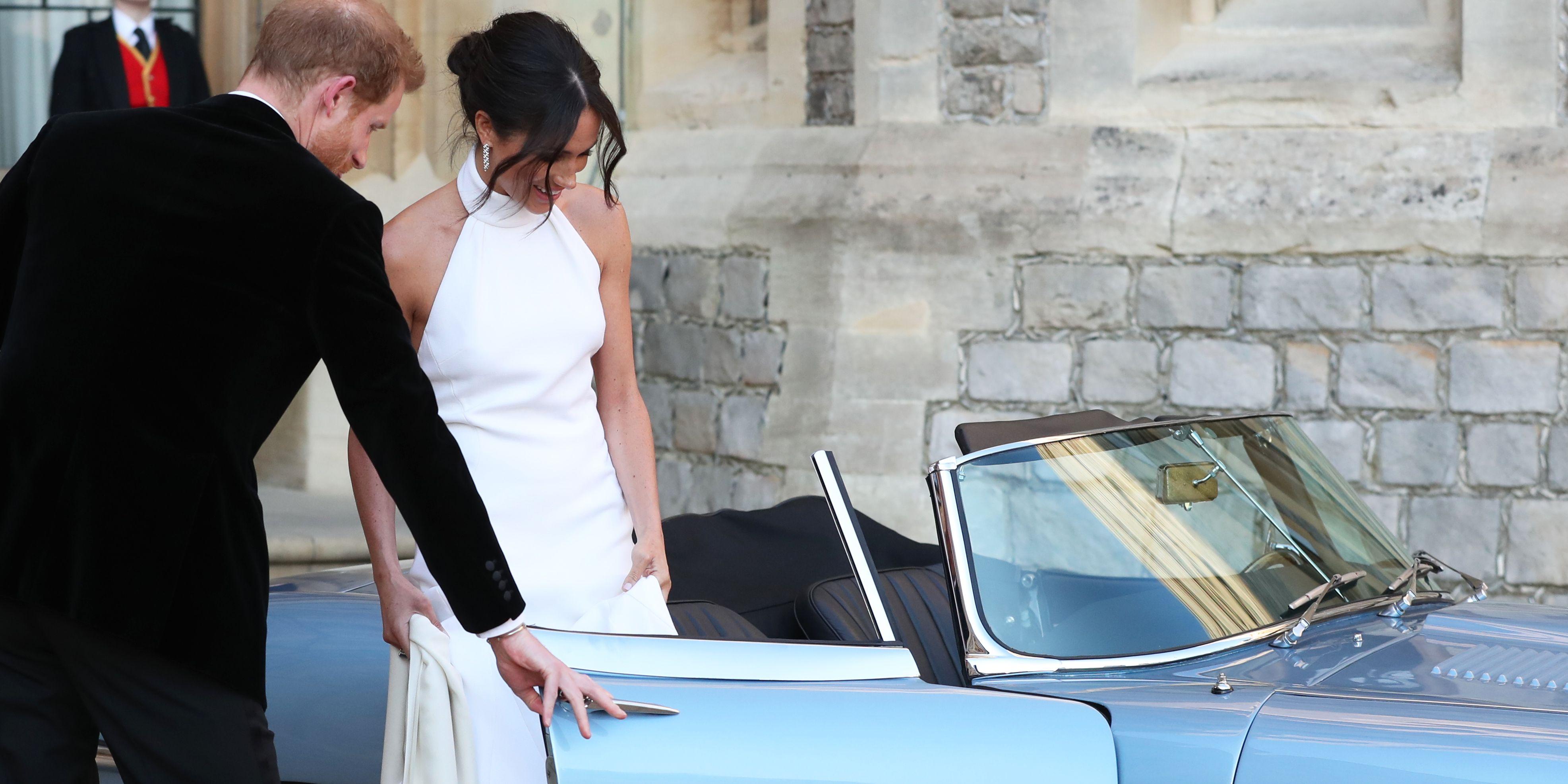 Royal Wedding 2018 prince harry meghan markle jaguar