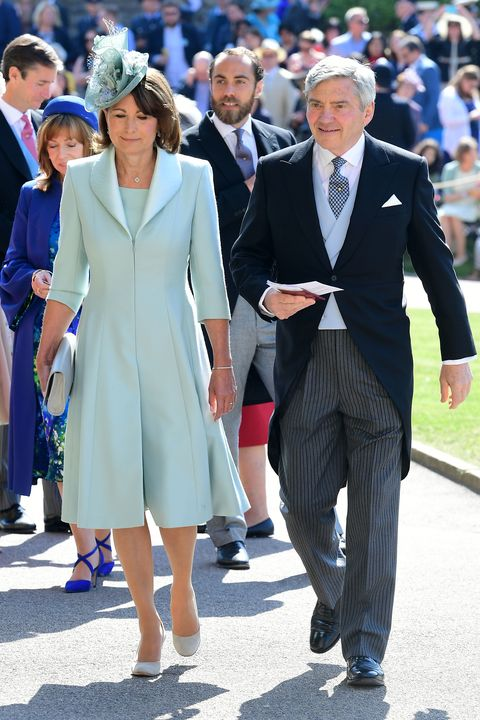 8e51aface6 How Carole Middleton s Royal Wedding Outfits Compare to Each Other