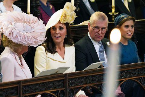 Royal Wedding duchess catherine Camilla Parker Bowles
