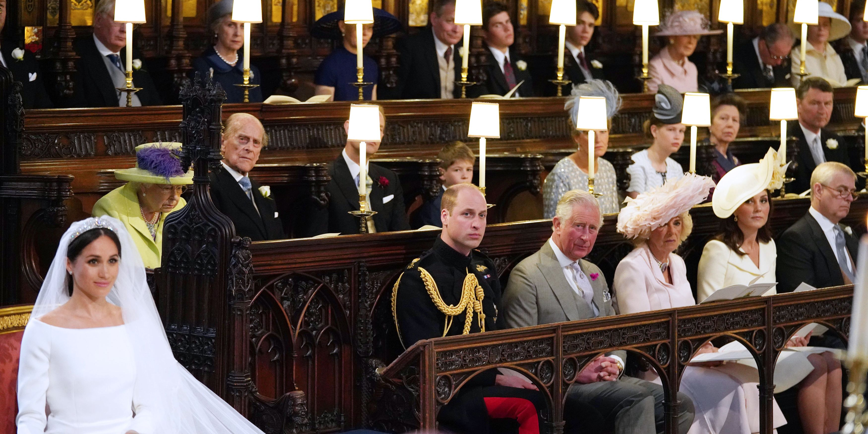 Royal Wedding prince harry meghan markle ceremony seat