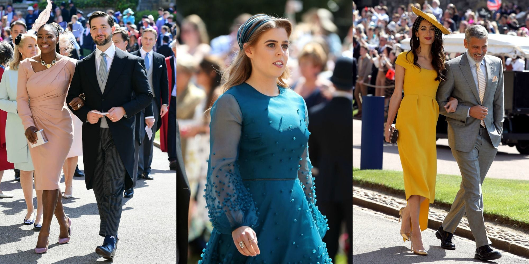 Royal Wedding 2018 Celebrity Guest List Famous Guests At The