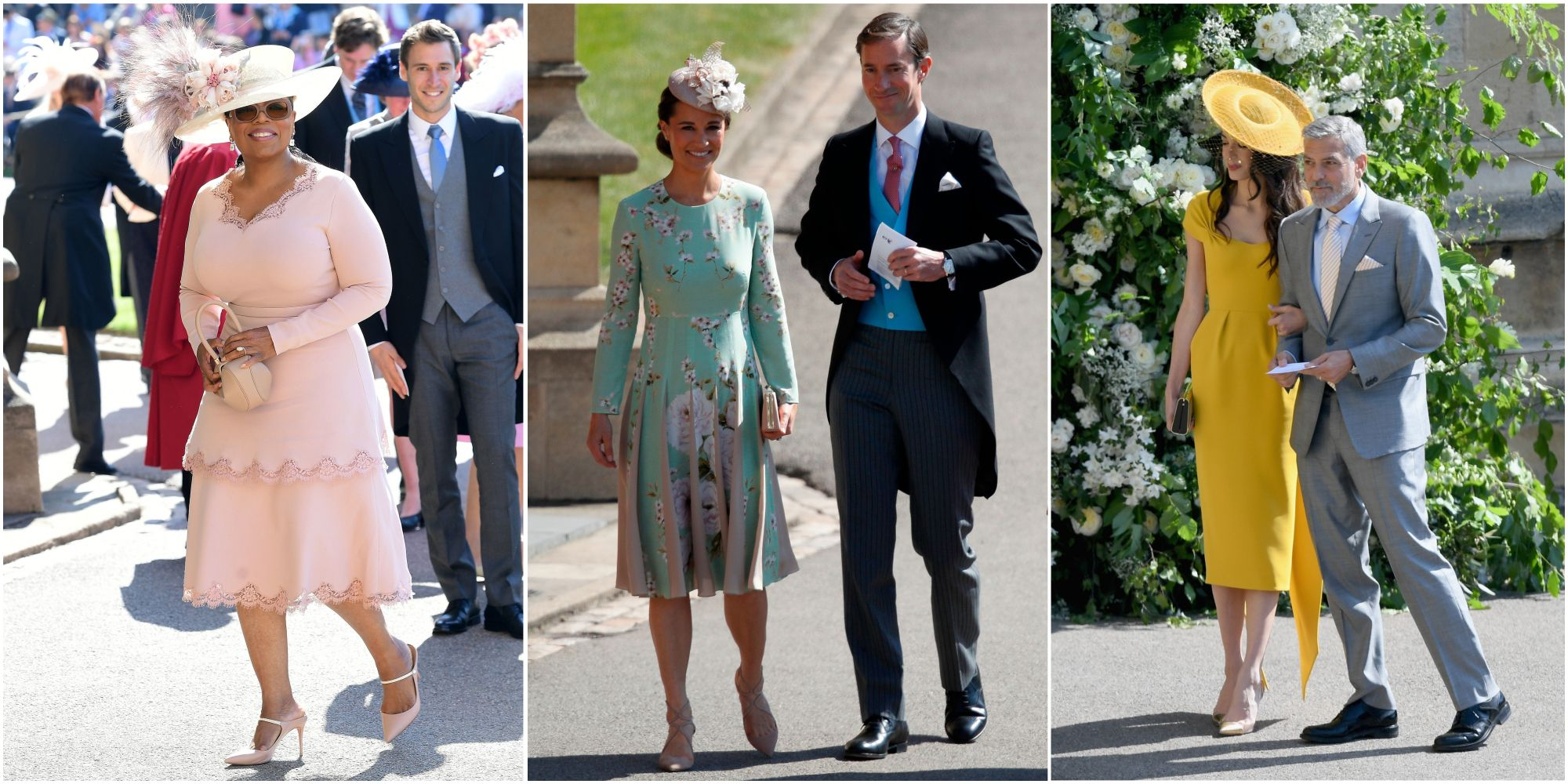 Royal Wedding Every Stunning Outfit From The A List Guests