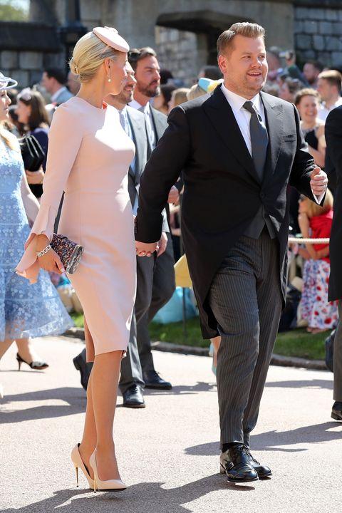 Royal Wedding 2018 James Corden Julia Carey