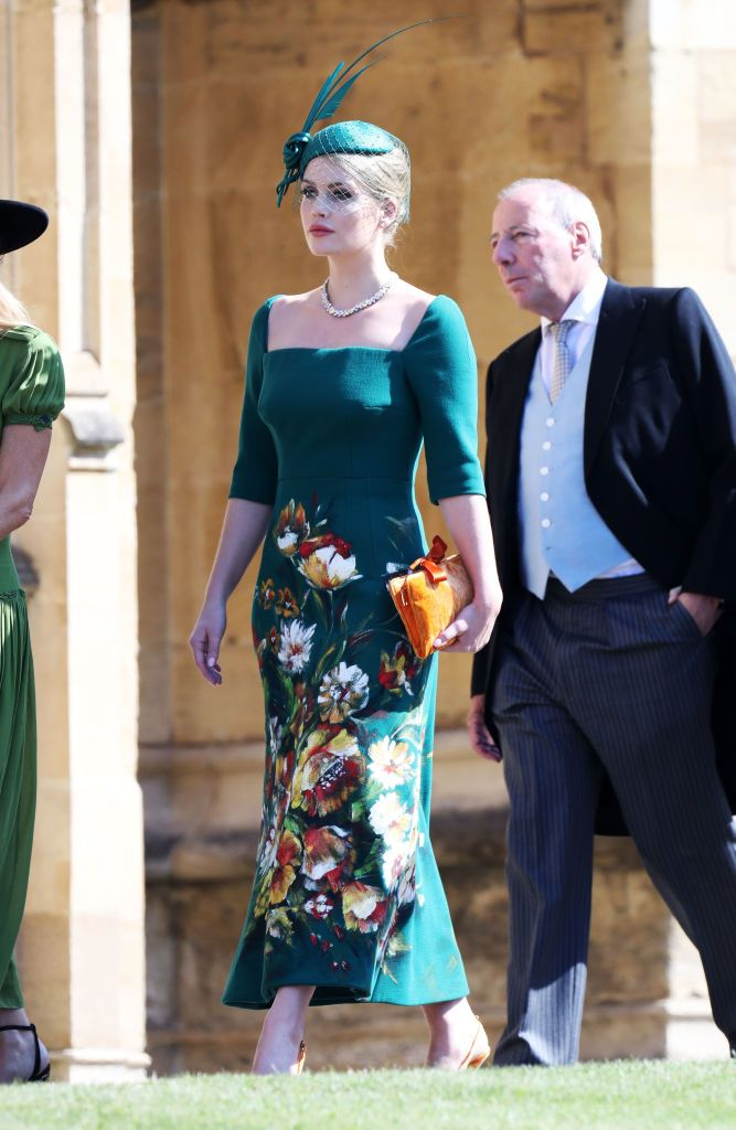 Kitty Spencer Princess Diana S Niece Stuns In Dolce